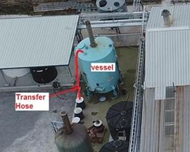 重质型气力输送器输送铝质金属颗粒材料