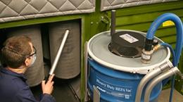 HEPA重质碎屑真空泵